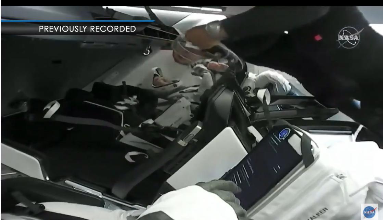 seo建站_SpaceX Crew-1 龙飞船即将返回地球,4 名宇航员准备停当插图
