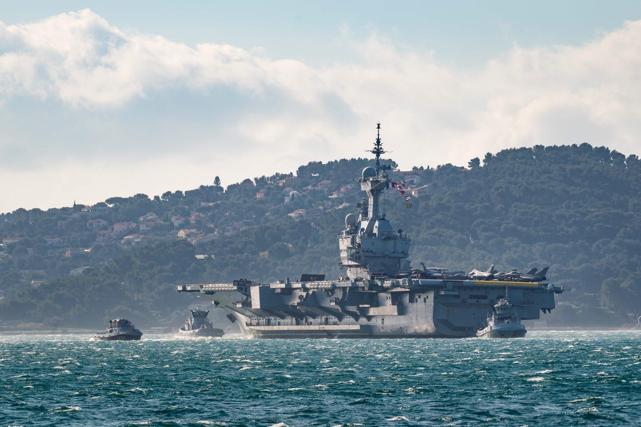 14d27ccd29c9f3fc93013dc85332a9b4u5 - 乐号航母开始2021年部署军事类杂志前十名法国戴高