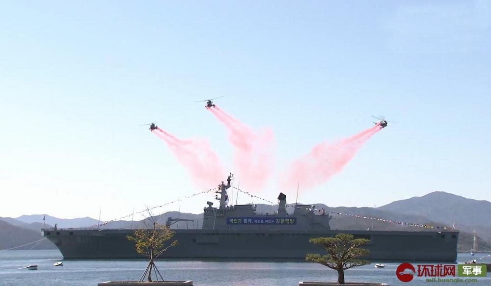 美海军曝丑闻_韩国军校毕业典礼照办不误,防长亲自出席,没人戴口罩