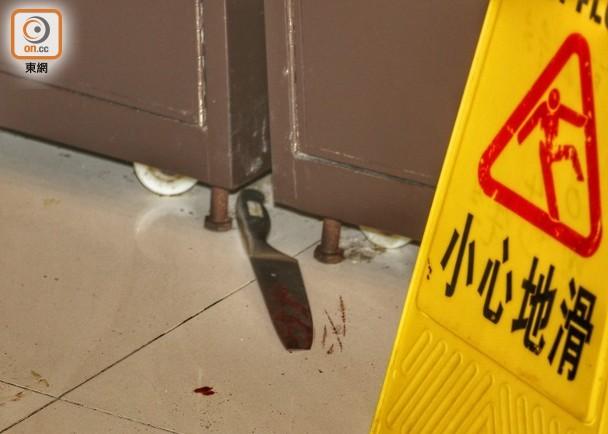 香港警方逮捕一名男子,涉嫌持刀袭击海丽商场3名职员