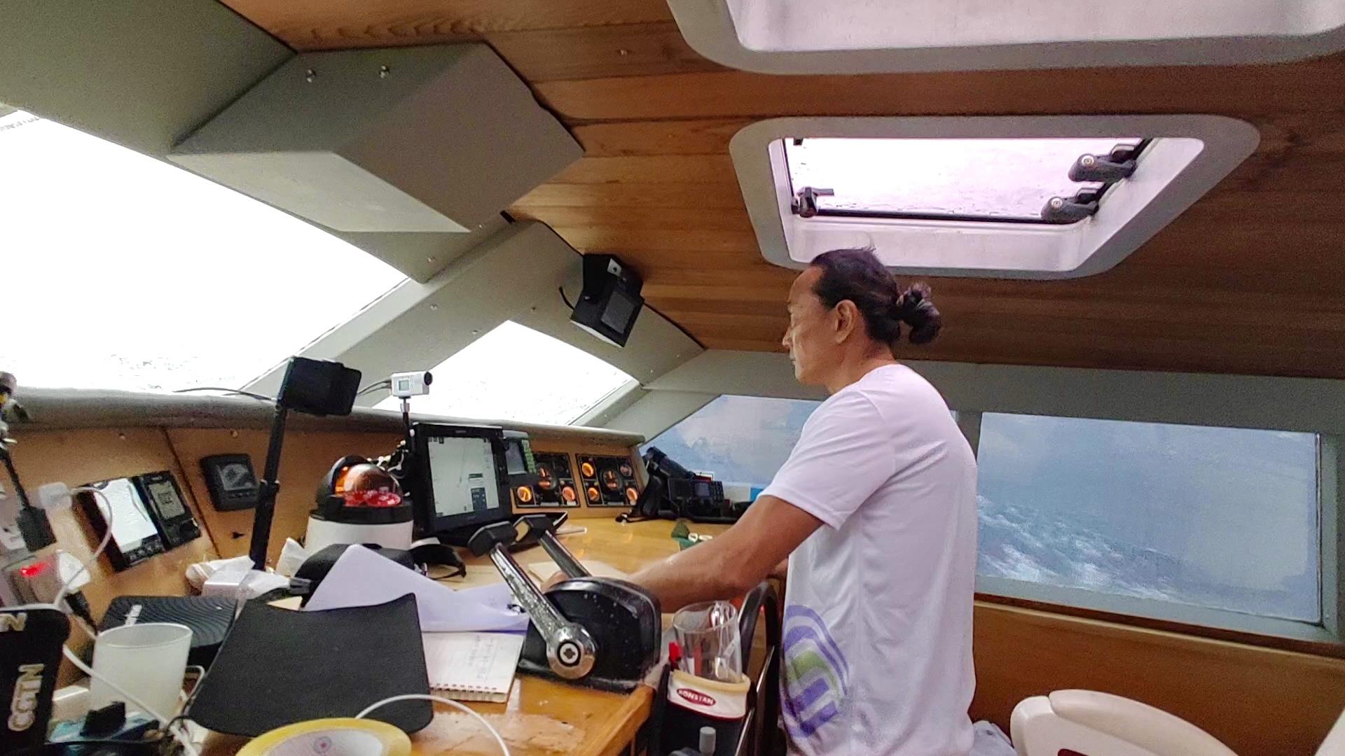 中国移动全球通助力航海家翟墨逐梦北冰洋
