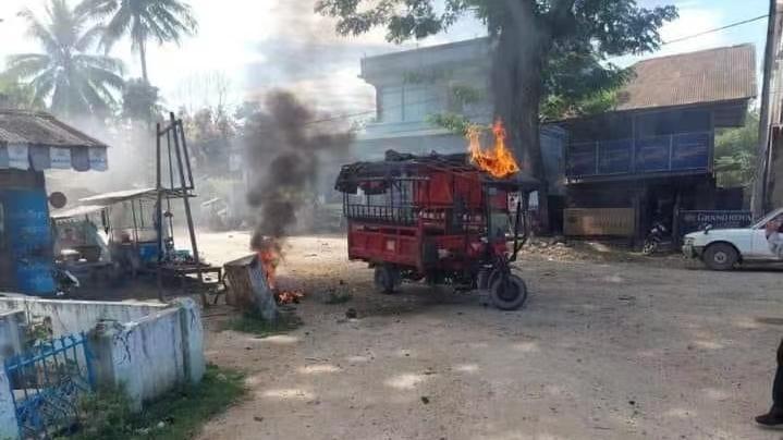 《【欧亿平台网页版】缅甸多地发生爆炸 至少12人受伤》