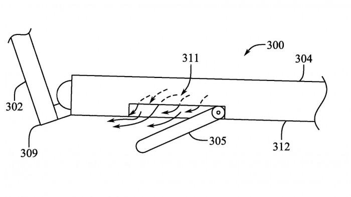 专利申请显示MacBook Pro未来可能采用新的通风底盘插图2
