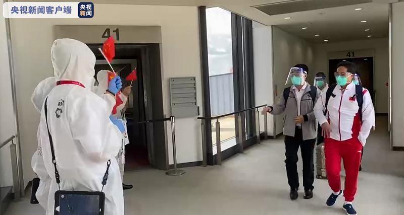 第三批中国奥运健儿抵达东京!包括射击、体操、羽毛球等7支奥运队伍插图