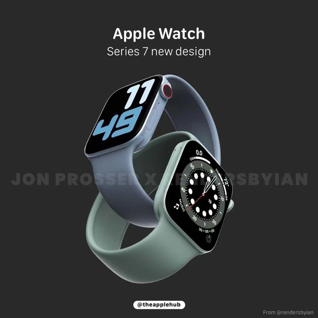 第七代Apple Watch爆料:外观或有变动、搭载U1超宽频芯片