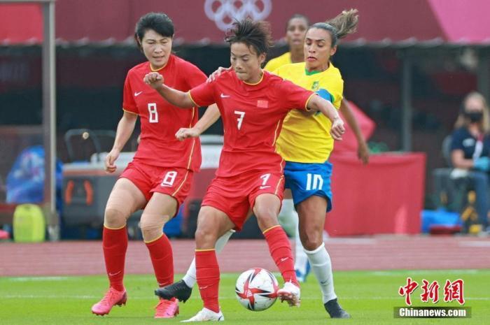 奧運賽事烽煙起 中國女足負巴西