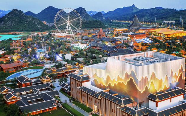 桂林融创国际旅游度假区携八大业态启幕 促进文商旅融合发展