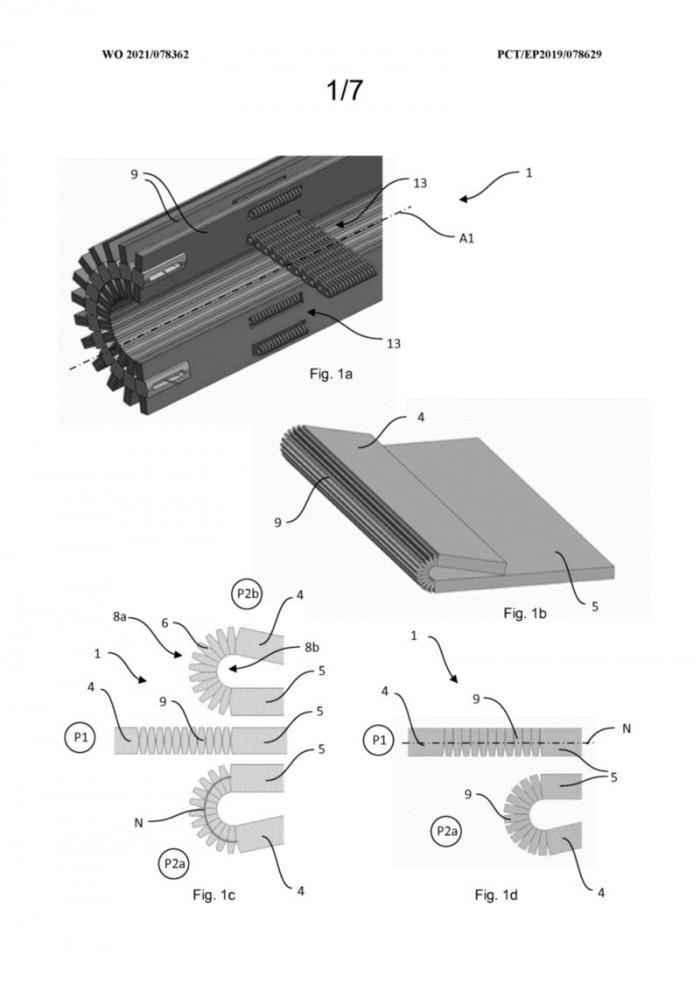 进程优化_华为新专利:为可折叠手机提供类Surface Book的增强型铰链插图6