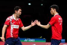 汤姆斯杯小组赛:中国队胜印度队