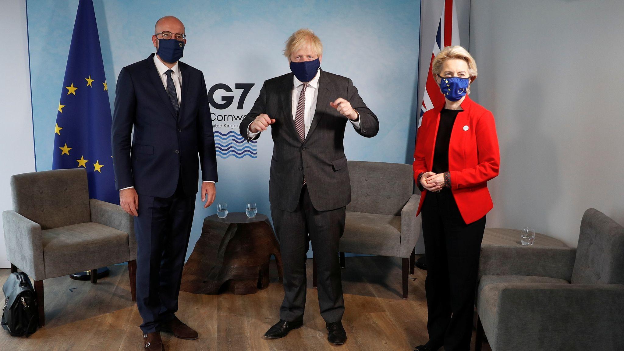 欧盟领导人警告英国执行达成的协议