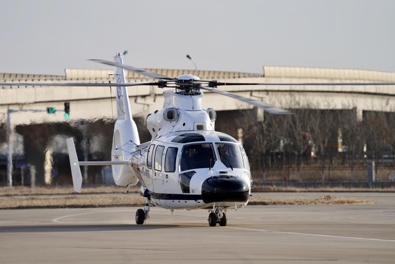 航空工业天直签订4架AC312E直升机意向订单