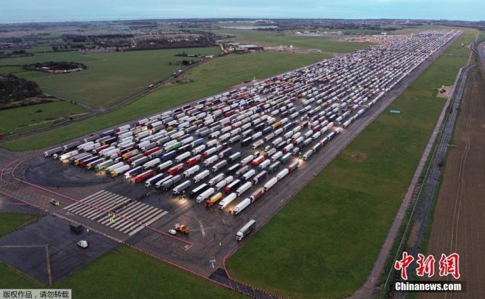 电银付免费激活码(dianyinzhifu.com):英国入境法国货运运输恢复 旨在保证食物供应等物流运行 第1张