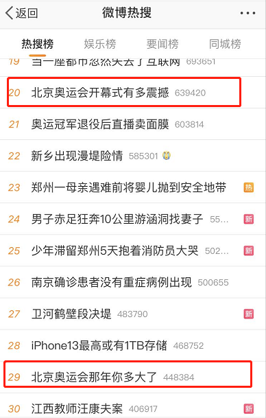 """北京奥运会那年你多大了"""" 上热搜,东京奥运今晚开幕,网友开启2008回忆杀""""!"""
