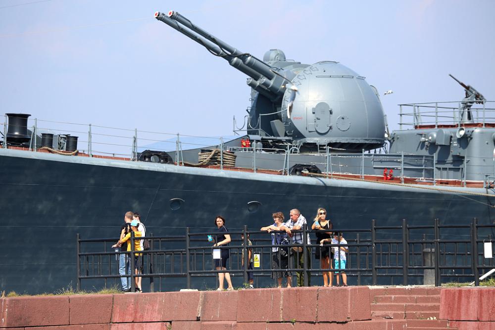 俄罗斯海军节阅兵将至 海军举行阅兵彩排插图(6)