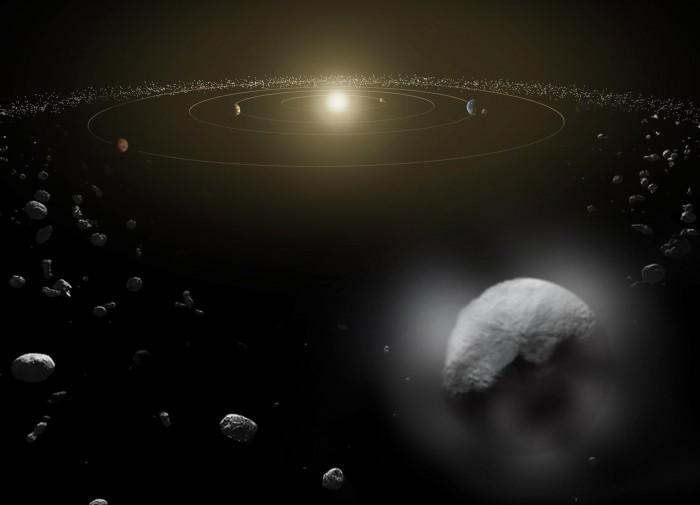 独特研究首次跟踪过亿年来流向地球的陨石流量