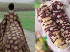 """章子怡新剧造型""""撞衫""""玉米 本尊回应:想象力丰富"""