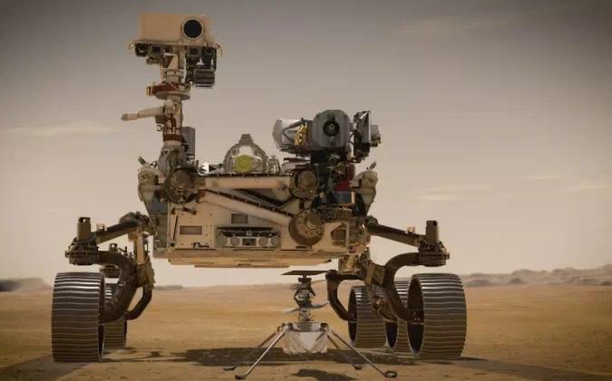 """NASA""""毅力号""""火星车成功登陆火星并回传首张照片插图"""