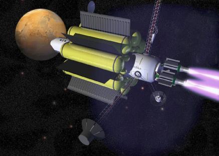 吕梁新闻等离子体火箭,充电就能轻松去火星