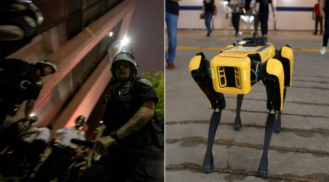 """现实版""""黑镜""""?纽约警局推新机器狗,有网友想起了它... 第1张"""