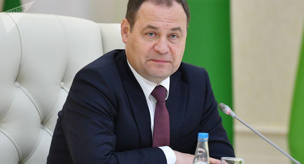 """白俄罗斯总理:明斯克有意放弃欧美技术,""""光中国技术就可替代90%的欧美技术"""""""