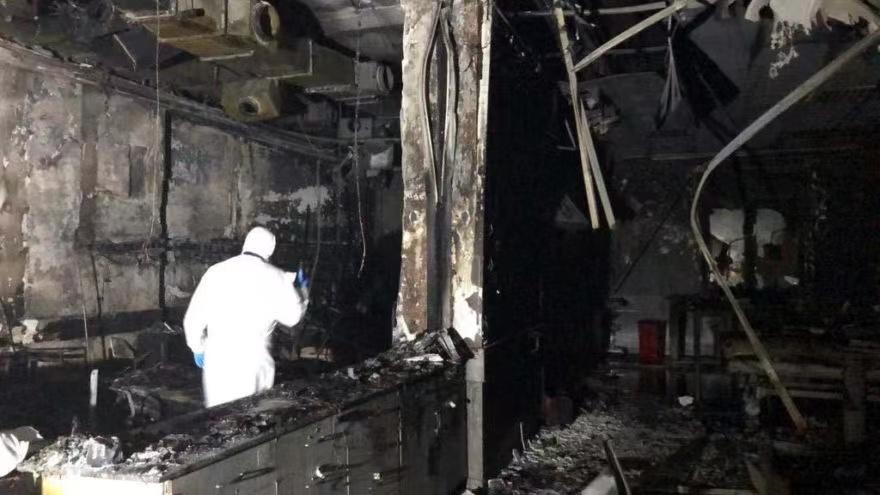 电银付(dianyinzhifu.com):土耳其一私立医院氧气装备爆炸 罹难人数已增至11人 第1张