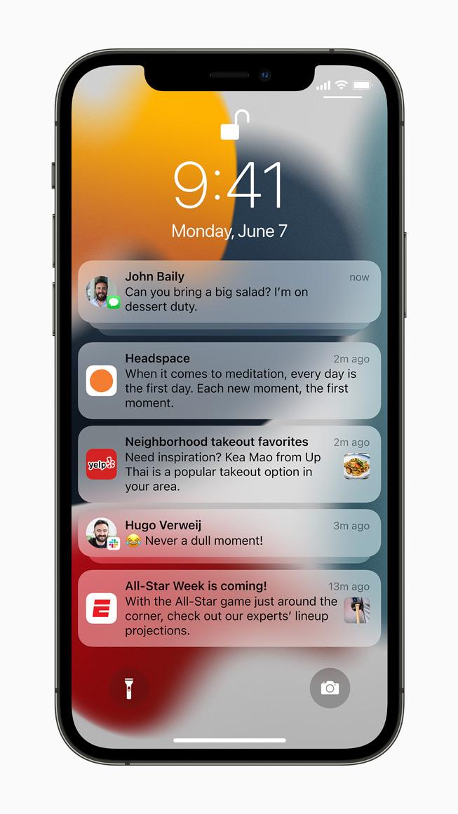 苹果 iOS 15 正式发布 未来或放宽系统升级限制