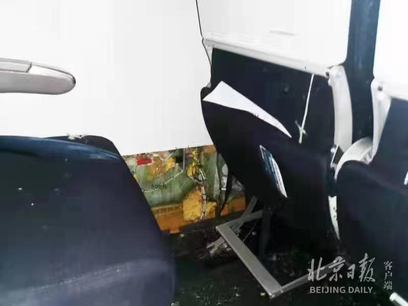 法航乘客回忆班机起火惊魂一刻,舱内画面曝光