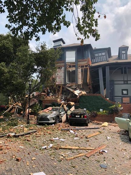 美国亚特兰大一公寓发生爆炸造成多人受伤