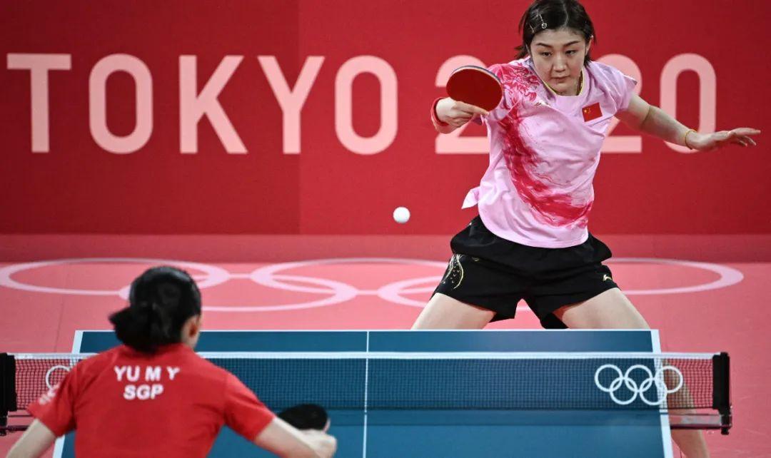 《【杏鑫代理平台】提前锁定!乒乓球女单冠亚军都是中国的》