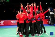汤姆斯杯:印尼队夺冠