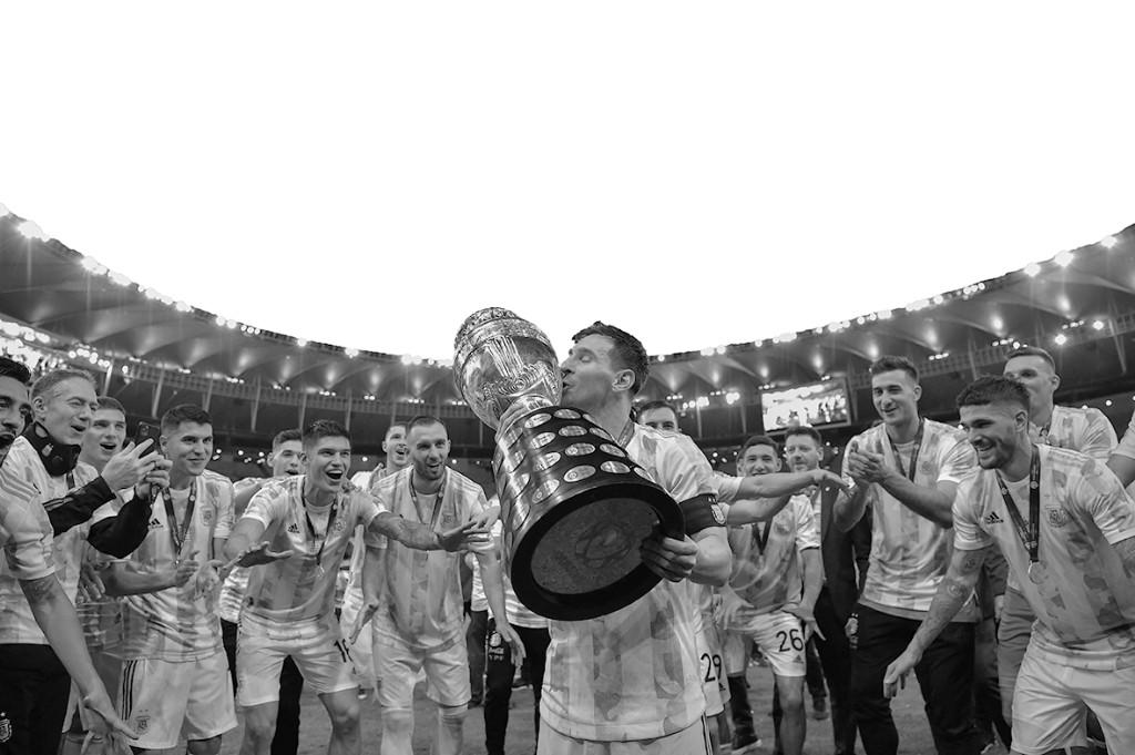 """問鼎美洲杯,阿根廷終於""""不再哭泣"""""""