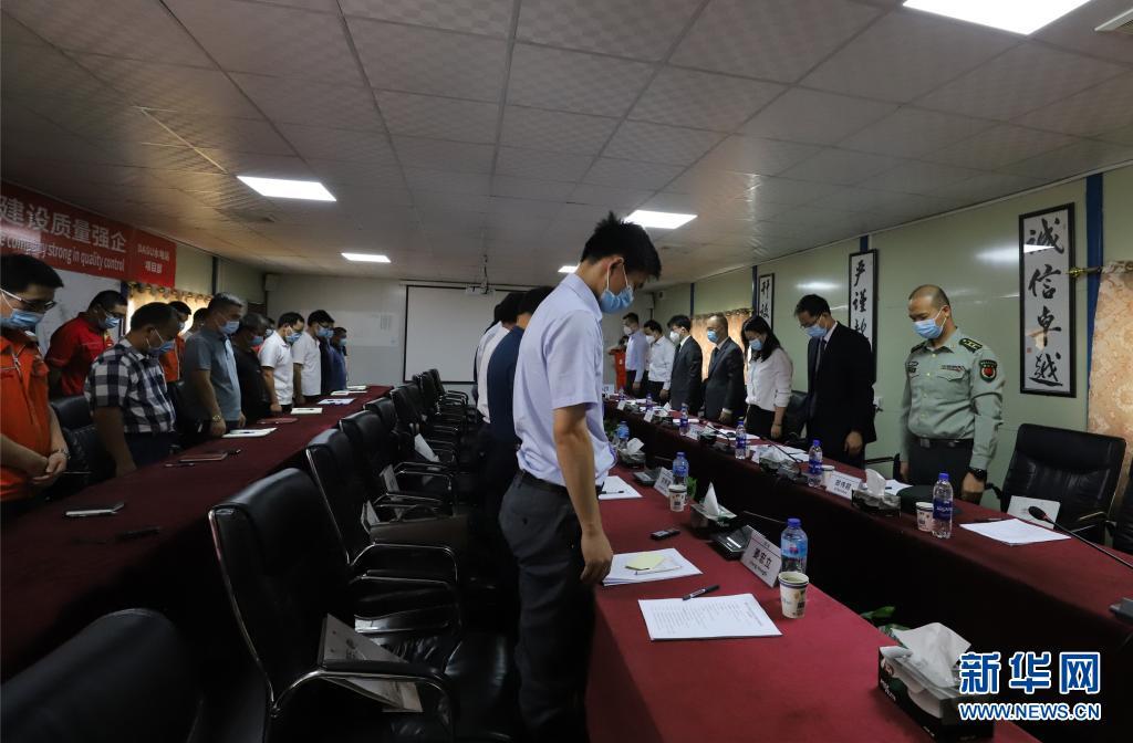 中国赴巴基斯坦跨部门联合工作组吊唁遇难同胞插图(1)