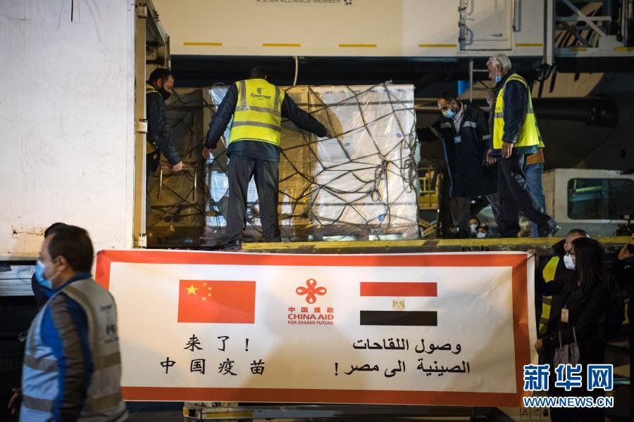 《【杏鑫电脑版登陆地址】中国援助埃及的首批新冠疫苗运抵开罗》