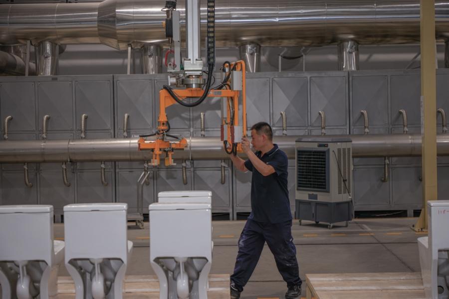 小县城藏着一座5G智慧制造产业园 马桶也能用智慧制造 业界 第3张