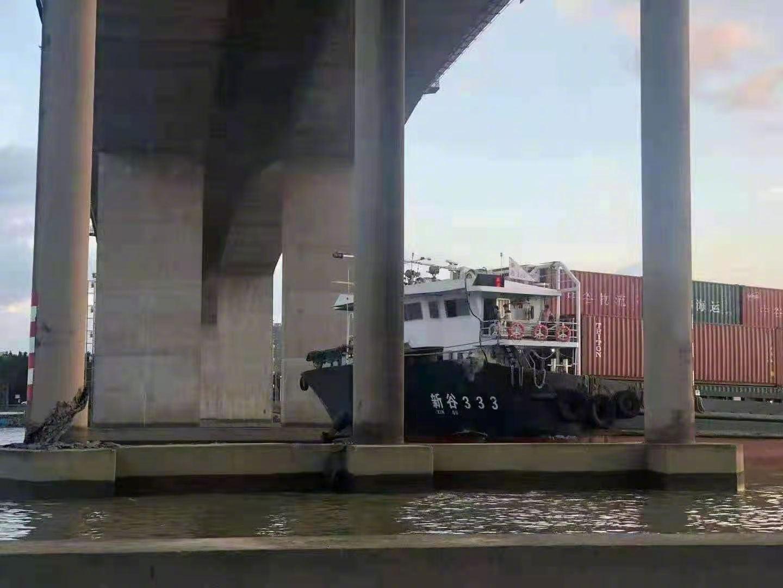 广州海事局通报一船舶触碰北斗大桥:桥墩和船体受损,未造成人员伤亡和水域污染