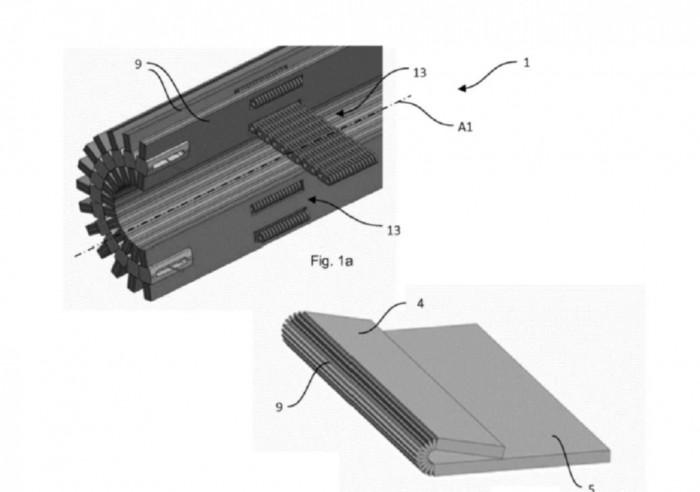 进程优化_华为新专利:为可折叠手机提供类Surface Book的增强型铰链插图1
