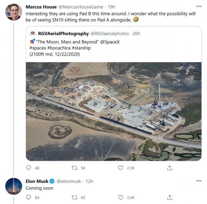 SpaceX将多种方式大幅提升其Starship开发计划