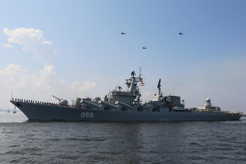 俄罗斯海军节阅兵将至 海军举行阅兵彩排插图(4)