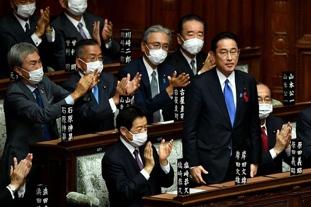 文在寅向日本新首相岸田文雄致贺函