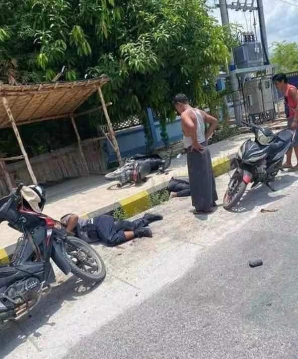 黄山法制缅甸曼德勒省两名警察遭枪杀