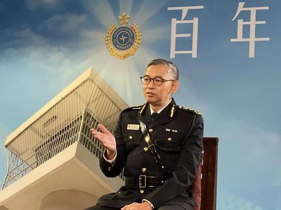 """银川seo_首次披露!香港惩教署:有一""""隐秘武器"""",曾多次出动押解黎智英插图"""