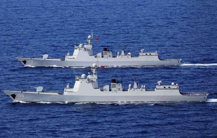 《【杏鑫娱乐登录】海军第37、38批护航编队在亚丁湾分航》