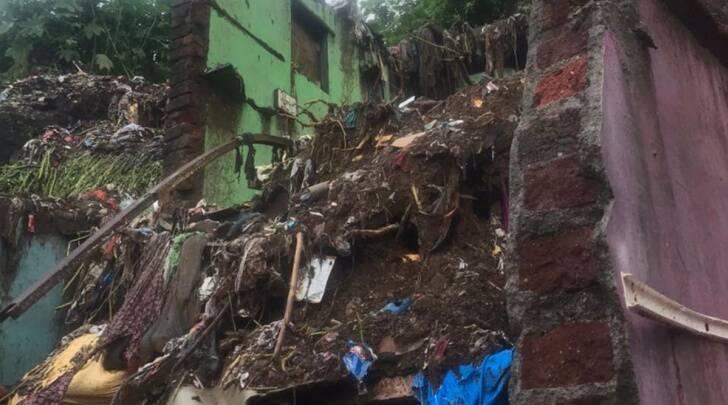 印度孟買因大雨發生事故 至少17人死亡
