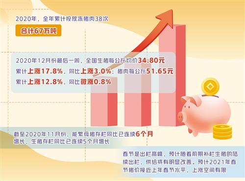生猪期货正式挂牌交易 专家表示猪肉价格上涨空间有限