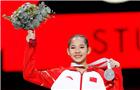 体操世锦赛唐茜靖摘银