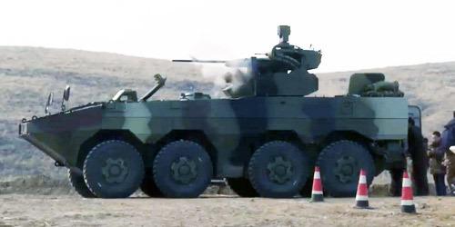 泰国陆军测试中国VN1装甲车 首批38辆即将交付
