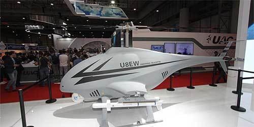 迪拜航展多款无人机亮相 国产无人机亮眼