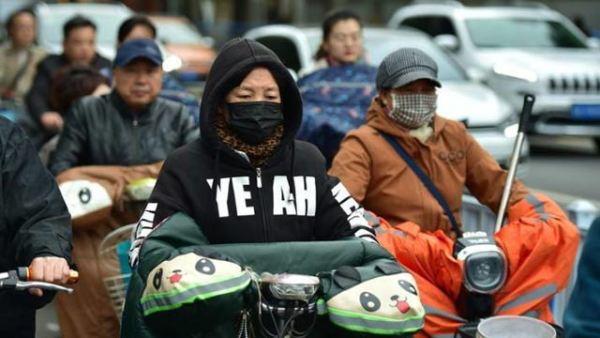 受冷空气影响 中国多地气温骤降