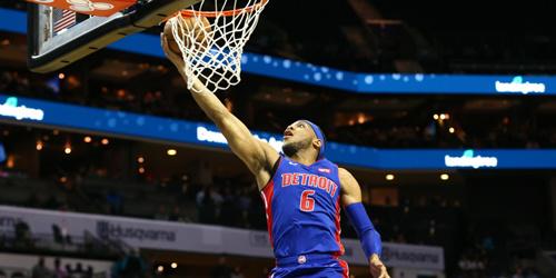 NBA季前赛:庄神17分15板 活塞击败黄蜂