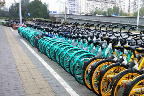 """北京西城区共享单�@一大吼车""""入栏结算""""试点开启"""